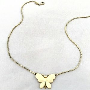 💟Rare Vintage Monet Butterfly Necklace💟